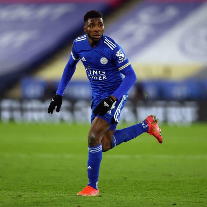 Kelechi Iheanacho scored two goals