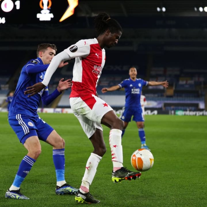 Olayinka has done well for Slavia Prague since moving in 2018