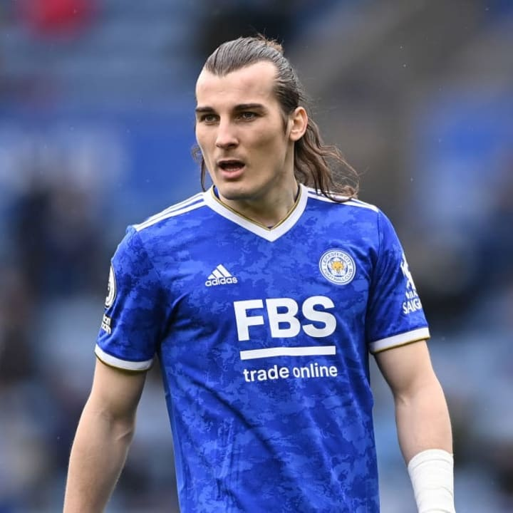 Caglar Soyuncu has been at the heart of Leicester's leaky backline
