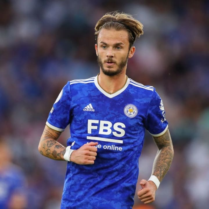 James Maddison is a target for Arsenal