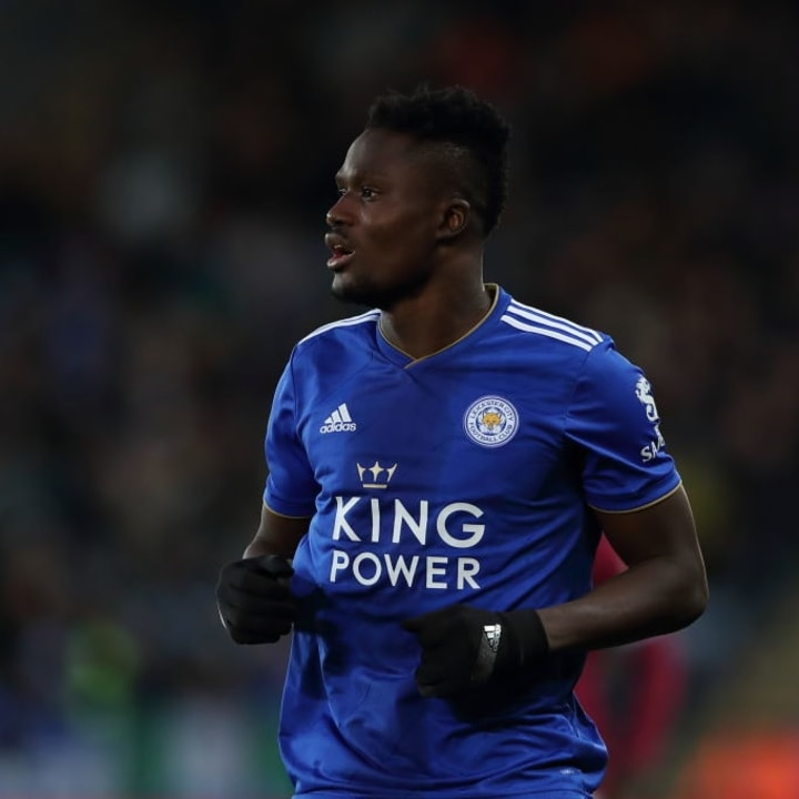 Daniel Amartey hasn't played for Leicester since October 2018.