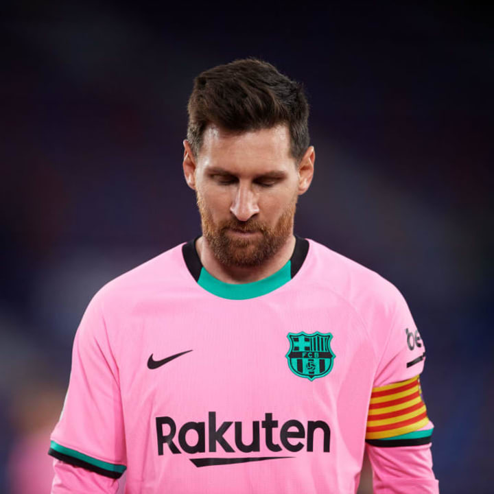 Messi's talks with Barcelona were unable to reach a positive conclusion