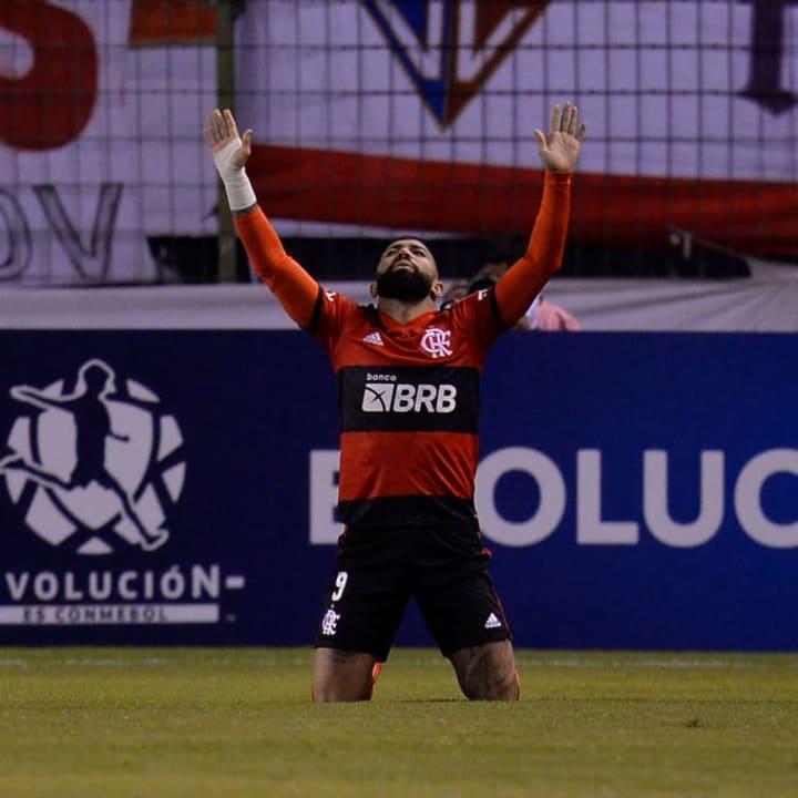 Gabriel Barbosa Gabigol Flamengo La Calera Vaga Libertadores