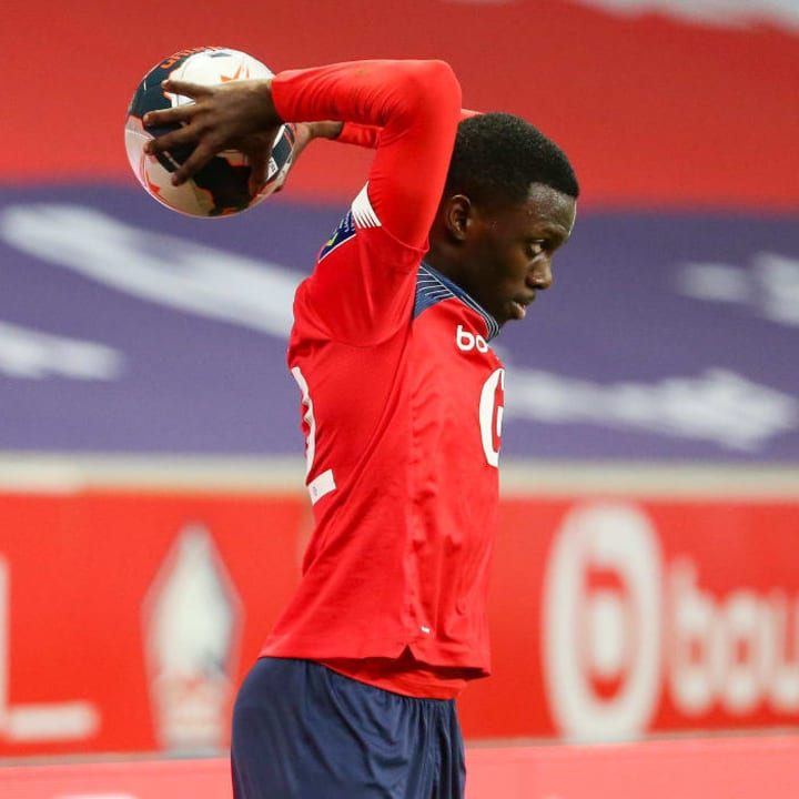 Timothy Weah played nearly half an hour for Lille