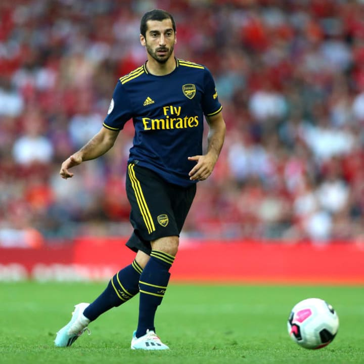 Mkhitaryan ended a disappointing spell in England in 2019
