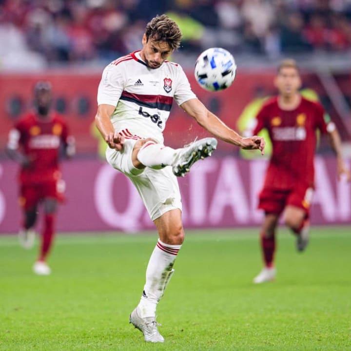 Rodrigo Caio Flamengo Mercado Arsenal David Luiz