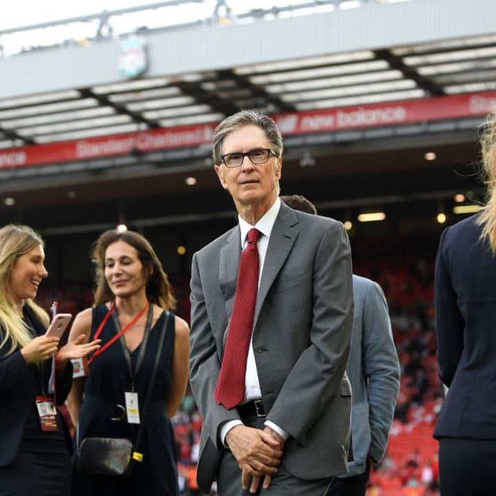 Liverpool's owners have taken charge of the process