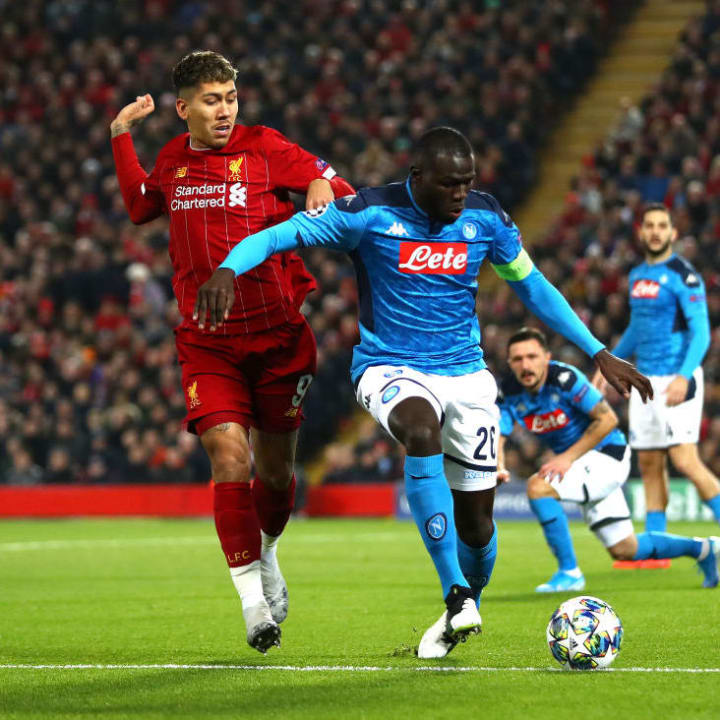 Koulibaly is interested in a move to the Premier League