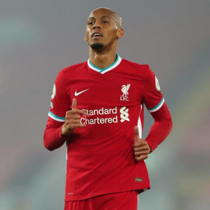 Fabinho will be starting at centre-back in place of Virgil van Dijk