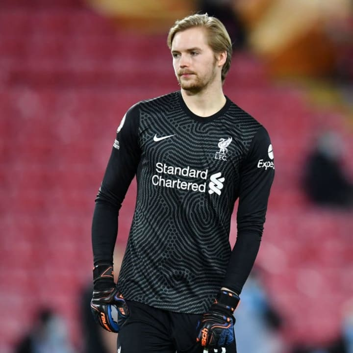 Caoimhin Kelleher deputised in goal for Liverpool in Alisson and Adrian's absence this season