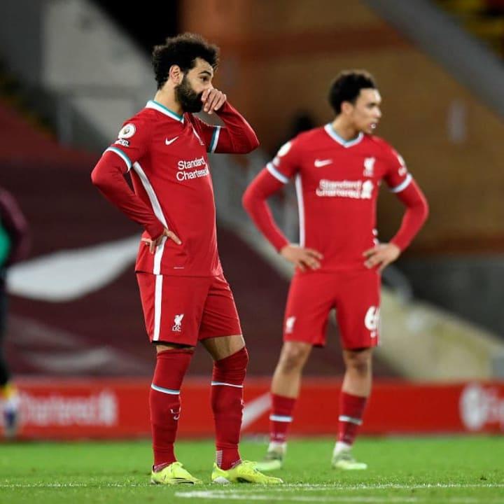 Liverpool haven't scored for four Premier League games