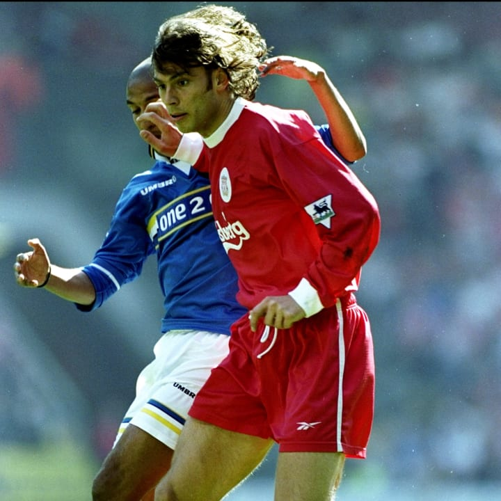 Liverpool v Everton Patrik Berger