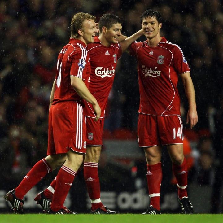 Steven Gerrard, Dirk Kuyt, Xabi Alonso