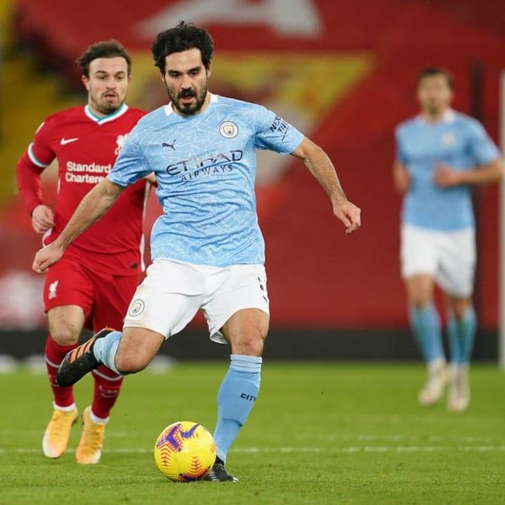 Gundogan is in the best form of his City career