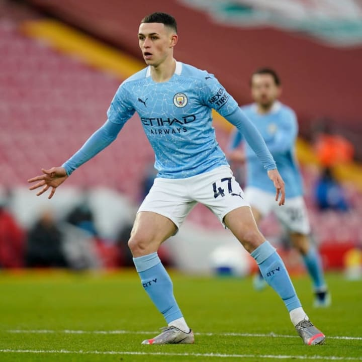 Foden is continuing to grow