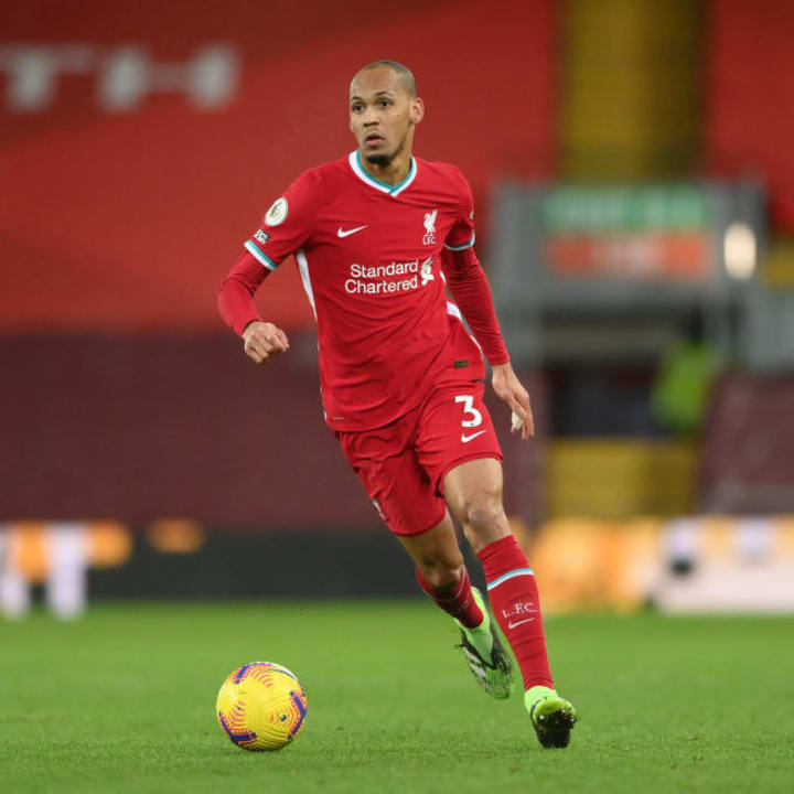 Fabinho has been sidelined with an injury