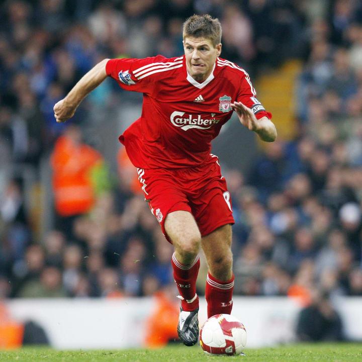 Liverpool's midfielder Steven Gerrard
