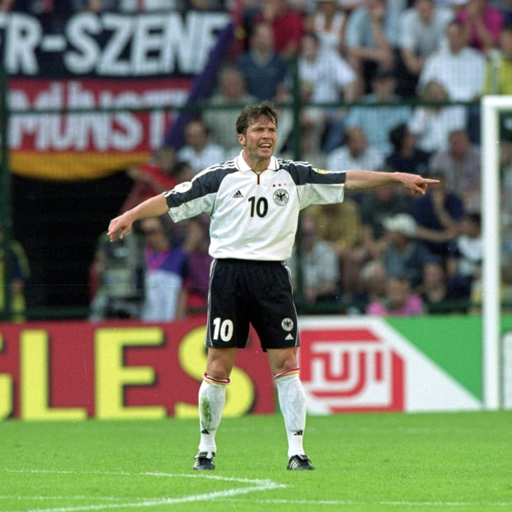 Lothar Matthaus appeared in his fourth European Championship at Euro 2000