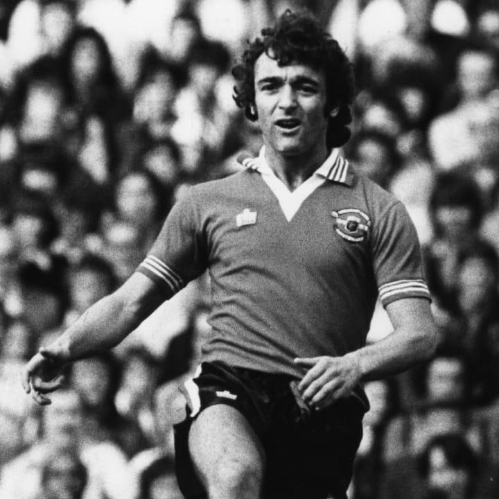 Lou Macari spent 11 years at Man Utd
