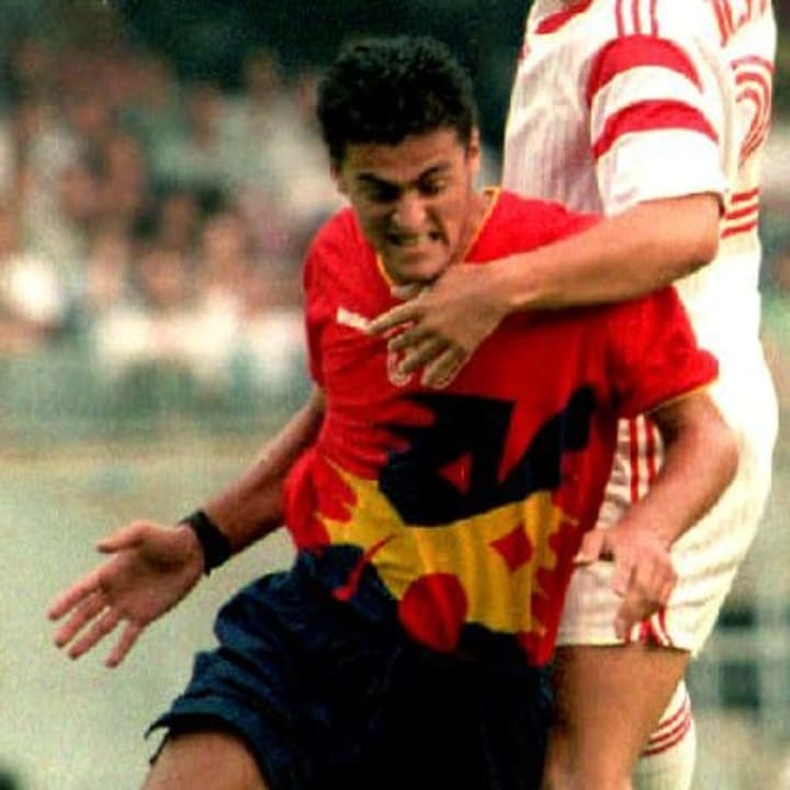Luis Enrique was part of Spain's young squad in 1992