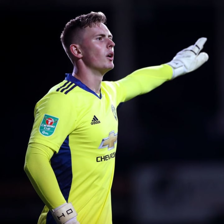Dean Henderson has replaced Romero as number two goalkeeper