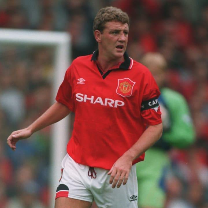 Steve Bruce - Manchester United captain