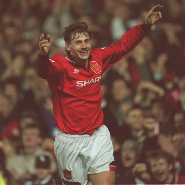 Andrei Kanchelskis stepped up with Eric Cantona suspended