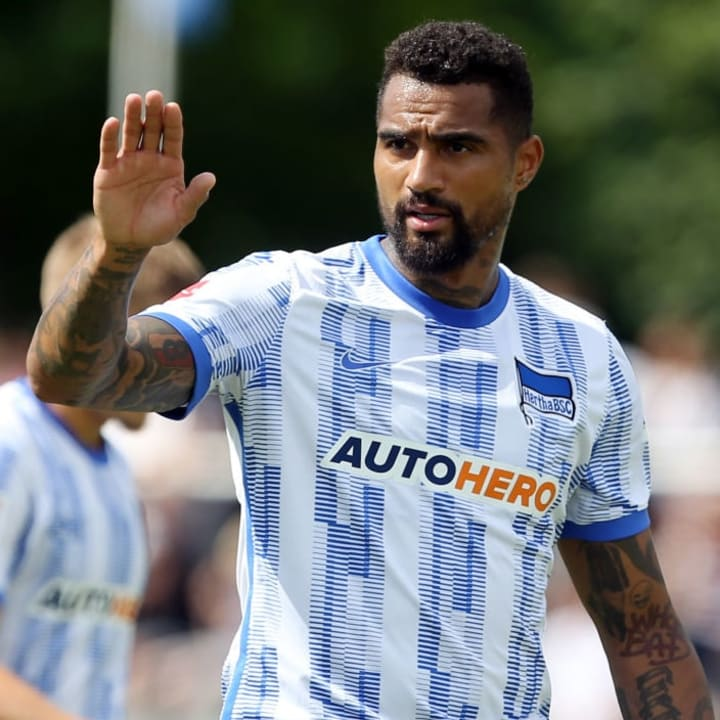 Kevin-Prince Boateng has re-joined his boyhood club 14 years after he left
