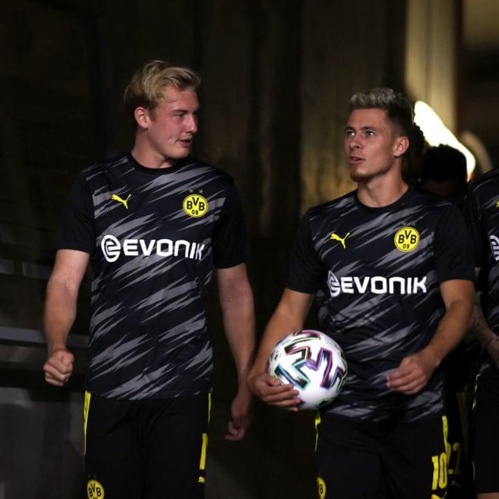 Thorgan Hazard, Julian Brandt