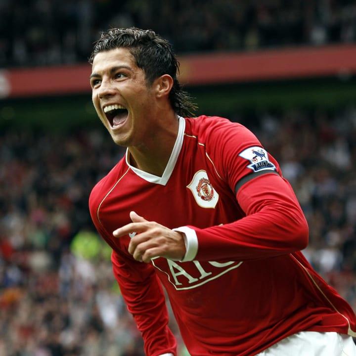 Manchester  United's Cristiano Ronaldo c