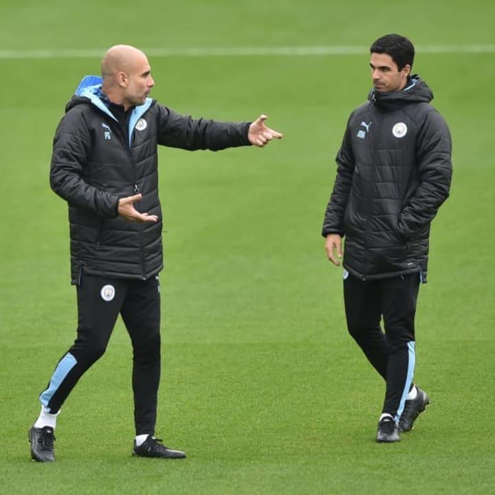 Guardiola wants Arteta to be seen as his own boss