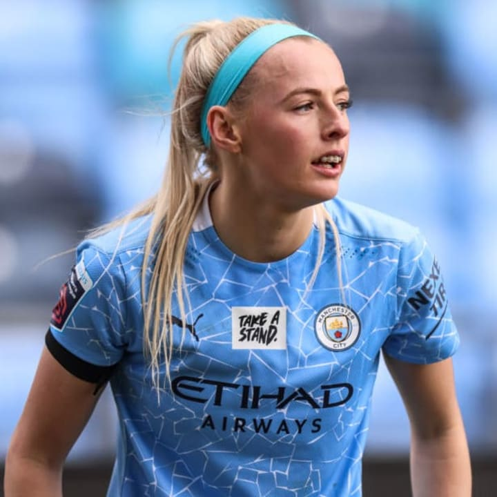 Chloe Kelly is already one of Man City's most important players