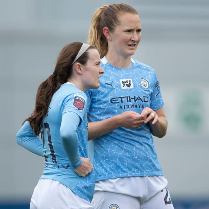 Some players, like Man City's Rose Lavelle & Sam Mewis, could head straight back to NWSL after just one season in England