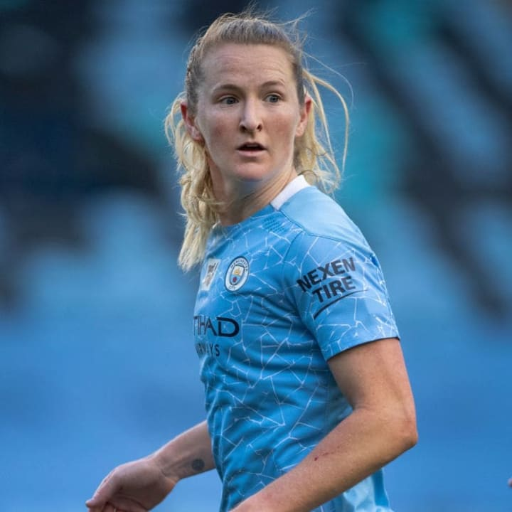 Sam Mewis has adapted well at Man City