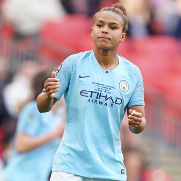 Parris was previously one of the WSL's top stars at Man City