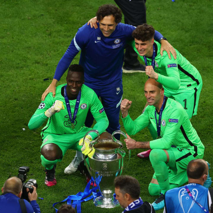 Kepa was benched at Chelsea by the arrival of Edouard Mendy