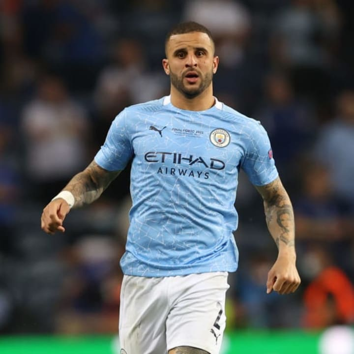 Kyle Walker cost Man City £47.5m