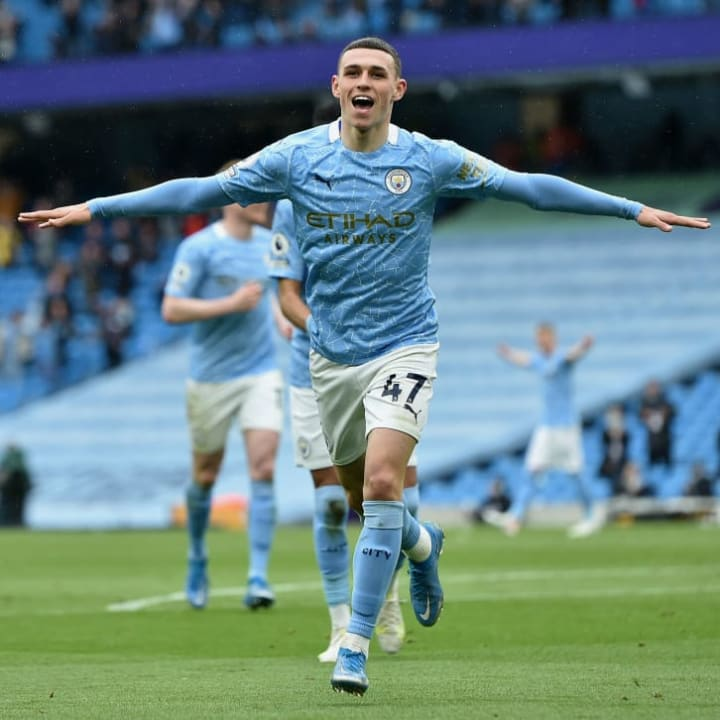 Phil Foden is becoming an increasing influence on the Manchester City starting XI