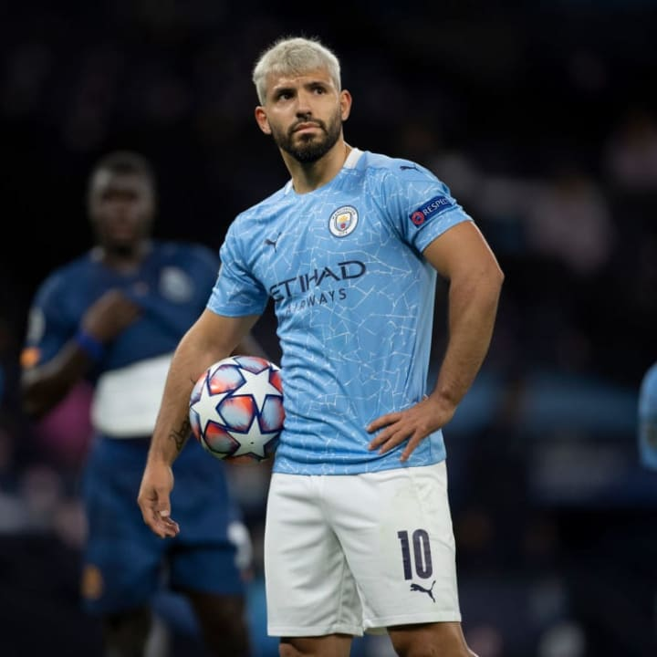 City know Aguero's time at the club is coming to an end