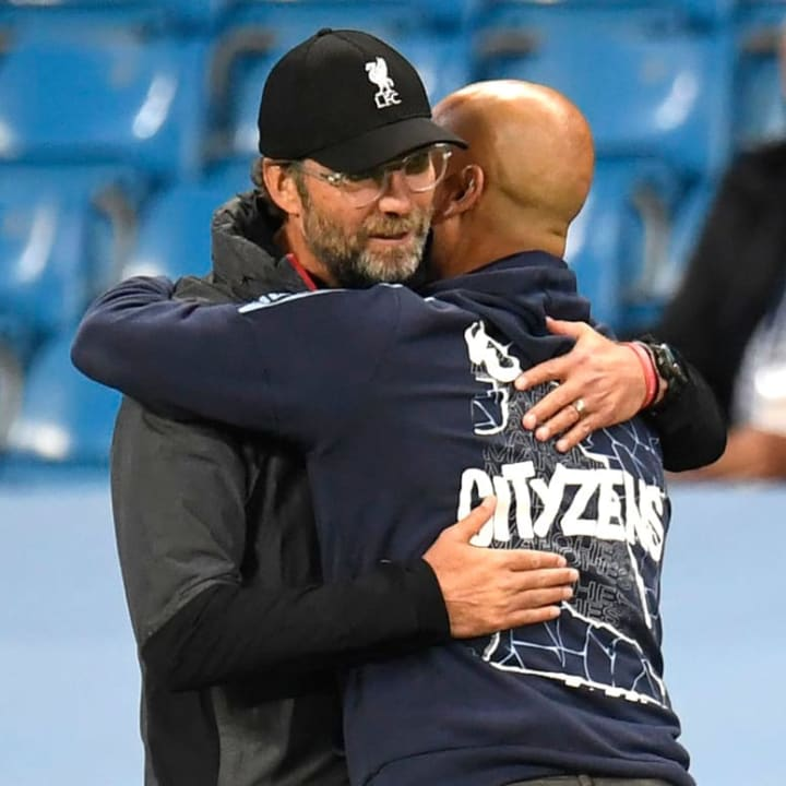 Klopp and Guardiola have dominated the Premier League over the past three seasons