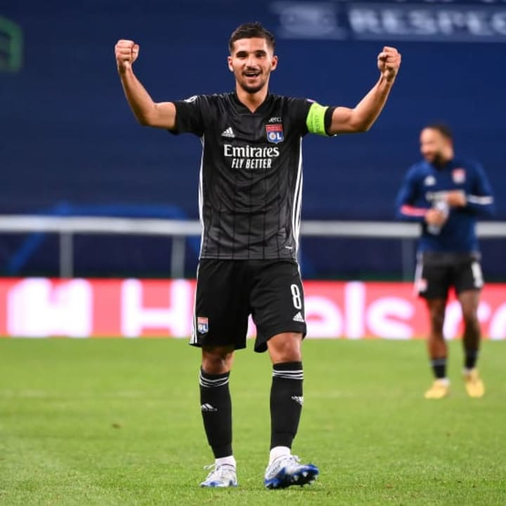 Houssem Aouar has been liked with Juventus & Arsenal
