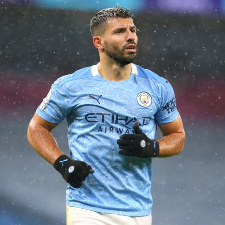 Sergio Aguero is nearing the end of his career