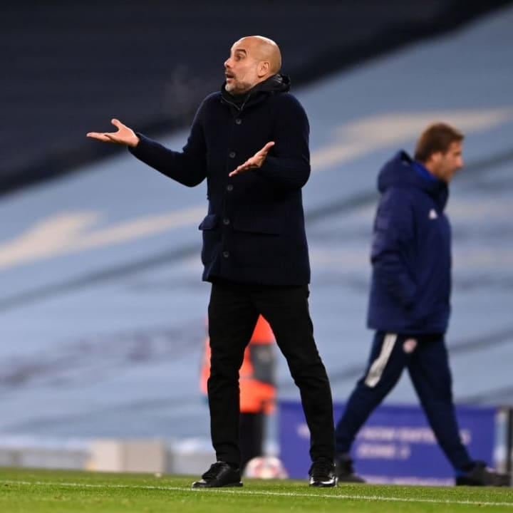 Guardiola must get City firing again after they were shut out again in N17