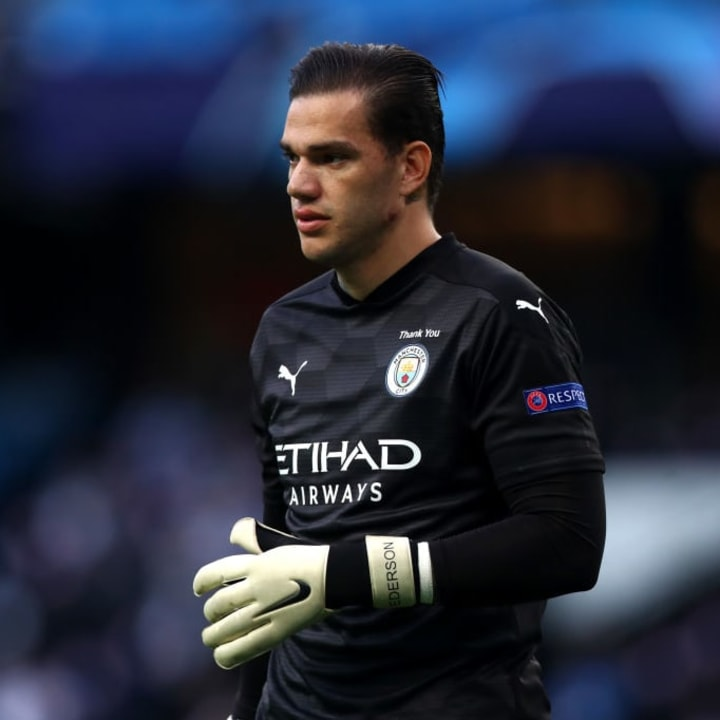 Ederson plays his role perfectly