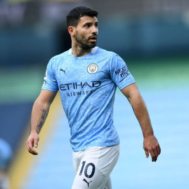 Aguero has scored 181 Premier League goals for Man City