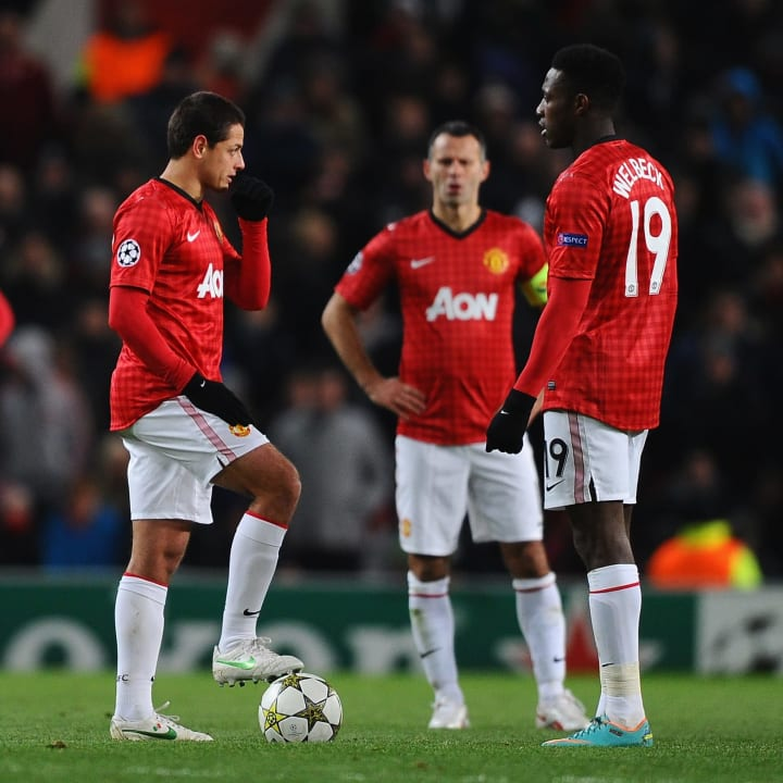 United were stunned by Cluj at Old Trafford in 2012
