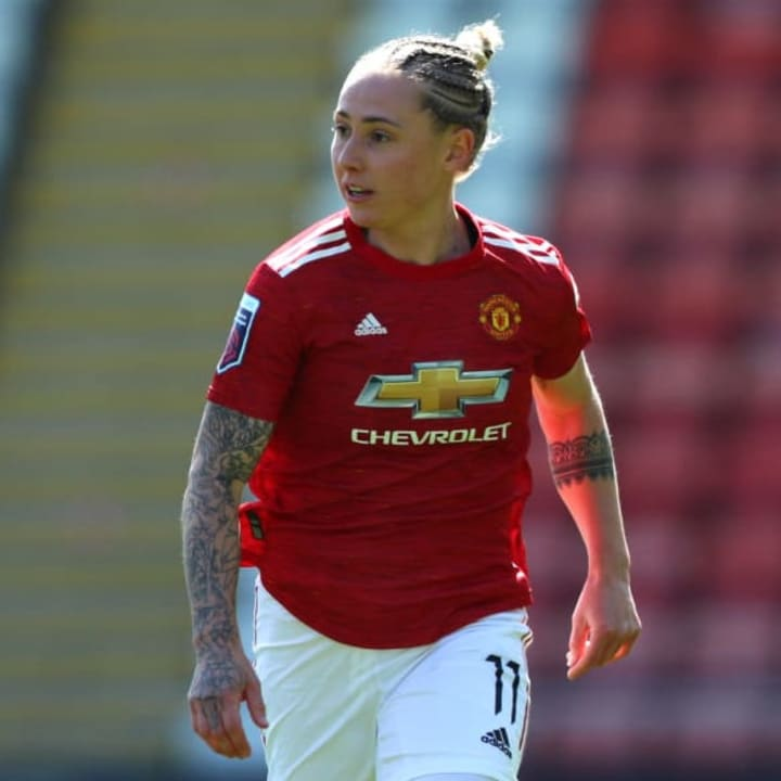 Leah Galton has signed a 3+1 year contract at Man Utd