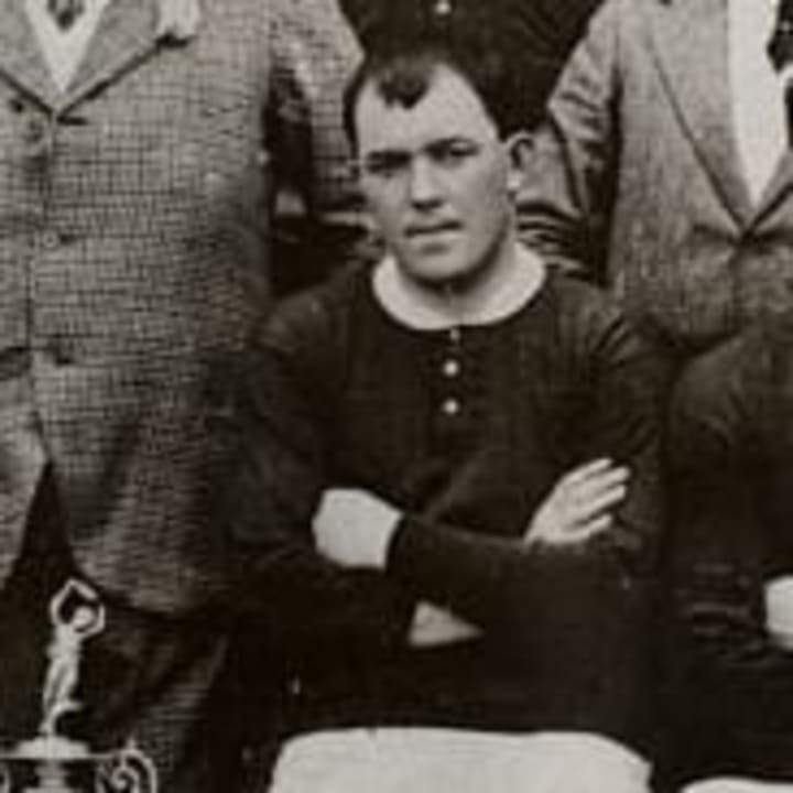 Sandy Turnbull scored the 1909 FA Cup final winner