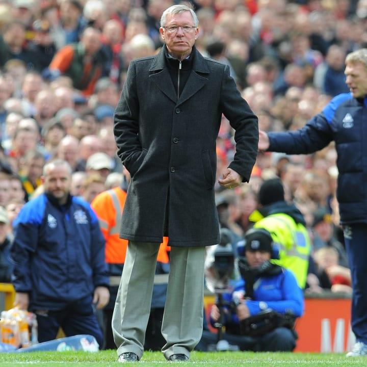Manchester United manager Alex Ferguson