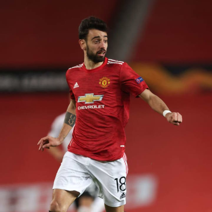 Bruno Fernandes struggled at times but he provided a great assist for Amad Diallo